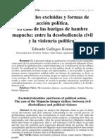 Gallegos (2011)_ Identidades excluídas y formas de acción política