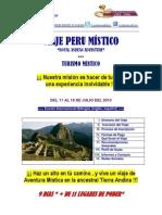 Viaje  Peru Mistico Julio 2013