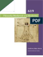 Filosofia Medieval a Moderna