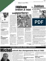 Le groupe au complet et Michel prévoit des changements face à l'ASO