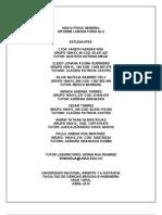 Informe Laboratorio Fisica General 2. (1)