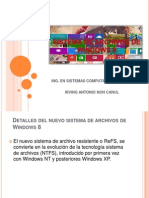 Sistema de Archivos de Windows 8