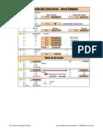 Matemática Financeira - Solução Lista 1