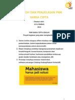 Contoh Dan Penjelasan PKM Karsa Cipta (Awal)