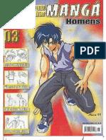 Como Desenhar Manga Vol. 3 Homens