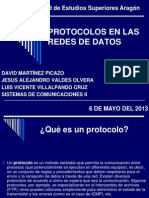 Protocolos en Las Redes de Datos
