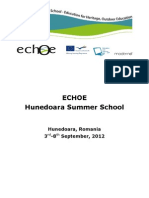 ECHOE-SummerSchoolReport
