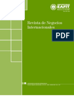 2012 Revista Negocios Internacionales Vol 5 N 1