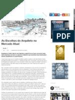 Arktetonix _ as Escolhas Do Arquiteto No Mercado Atual