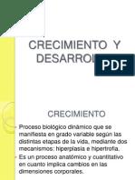 Crecimientro y Desarrollo 2013