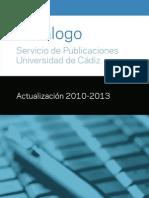 Publicaciones Uca Catalogo 2013