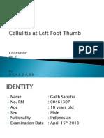 CASE celullitis