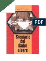 Carlos T. Gattinoni - Brevario Del Dador Alegre