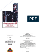 Hamilton Police Services Awards Night Program