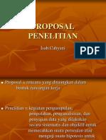 11. Pelatihan Proposal Penelitian