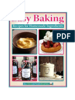 9 Easy Baking Recipes for Homemade Ingredients