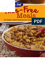 Fuss-Free Meals 35 Simple Skillet Recipes and One-Pot Recipes
