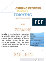 Forming Processes (MP module 3)