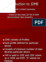 Introduction to J2ME