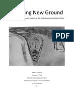 2013-01-13 Breaking New Ground Hains Point Redevelopment Economic Impact Study - M.steenhoek Rev1