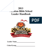 VBS Leader Handbook 2013
