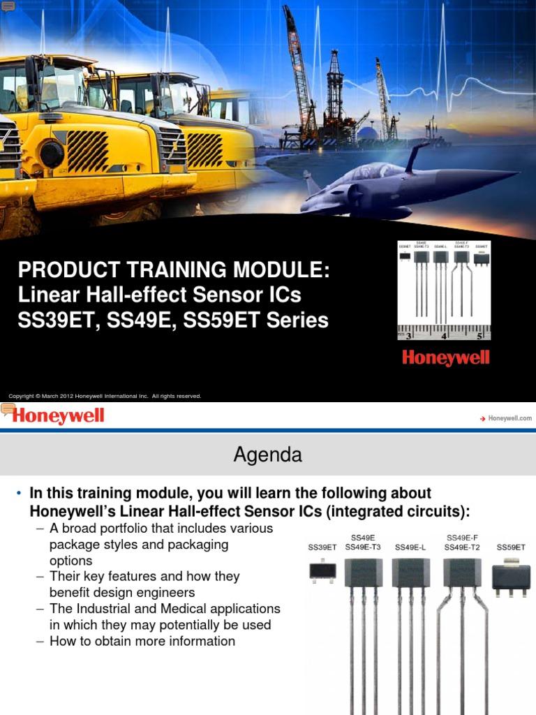 Honeywell Linear Hall Effect Sensor Ics Integrated Circuit Ic Basic Tutorial