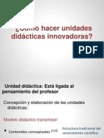 Unidades didacticas innovadoras