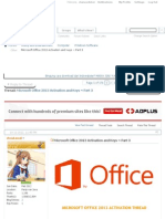 Other - Microsoft Office 2013 Activation and Keys ~ Part 3