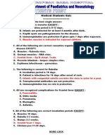 Pediatrics MCQs 1