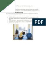 Ejercicios de Pilates Para Reducir Abdomen