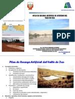 Plan de Recarga Valle de Ica