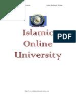 Arabic Reading Writing Module 1-Bilal Philips-C -www.islamtreasure.com