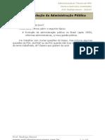 ADM - Evolução Administração Pública