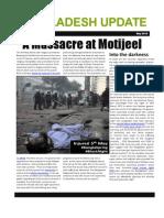 A massacre of demonstrators in Bangladesh