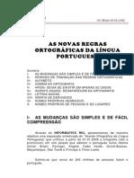 Novas Regras Da Linua Portuguesa