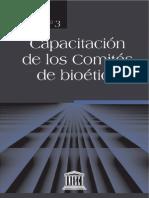 Comités de Bioética UNESCO guía 3