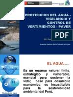 4-protección del agua vigilancia y control de vertimientos paver.  lic. juan ocola