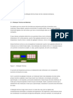 modelo relatório dilatação linear