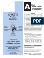 Atrial Fibrilation - Clinical Implications of New Guidelines Aug 2011