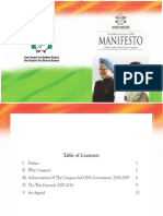 Congress- Elections 2009 Manifesto