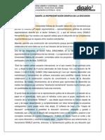 Argumentacion Mediante La Representacion Grafica de La Discusion