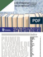 Informe Progreso Eeducativo Mexico 2012
