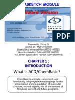 Chemsketch Presentation