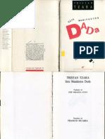 TZARA, Tristan - Sete Manifestos Dada (Editora Hiena, 1987)