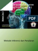 Modul 5 - Metode Inferensi Dan Penalaran