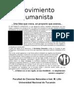 FOLLETO CECN Movimiento Humanista Quienes Somos 2012