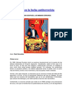 Los errores en la lucha antiterrorista en Perú