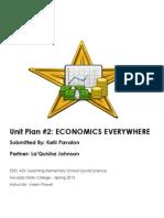 WIKI EDEL453 Spring2013 Unit2planner KPAVALON Economics4th DayPlanner