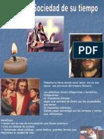 jesus y la sociedad de su tiempo 7° Básico