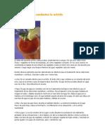 Alimentos Que Combaten La Artritis
